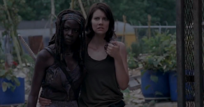 michonne-and-maggie-the-walking-dead-season-4