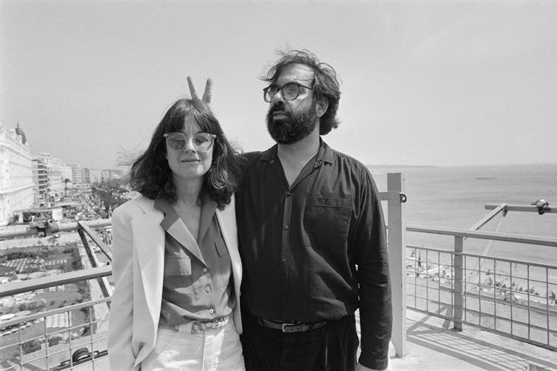 US film director Francis Ford Coppola (C) poses with his wife, on May 19, 1979 during the Cannes International Film Festival. AFP PHOTO RALPH GATTI / AFP PHOTO / RALPH GATTI