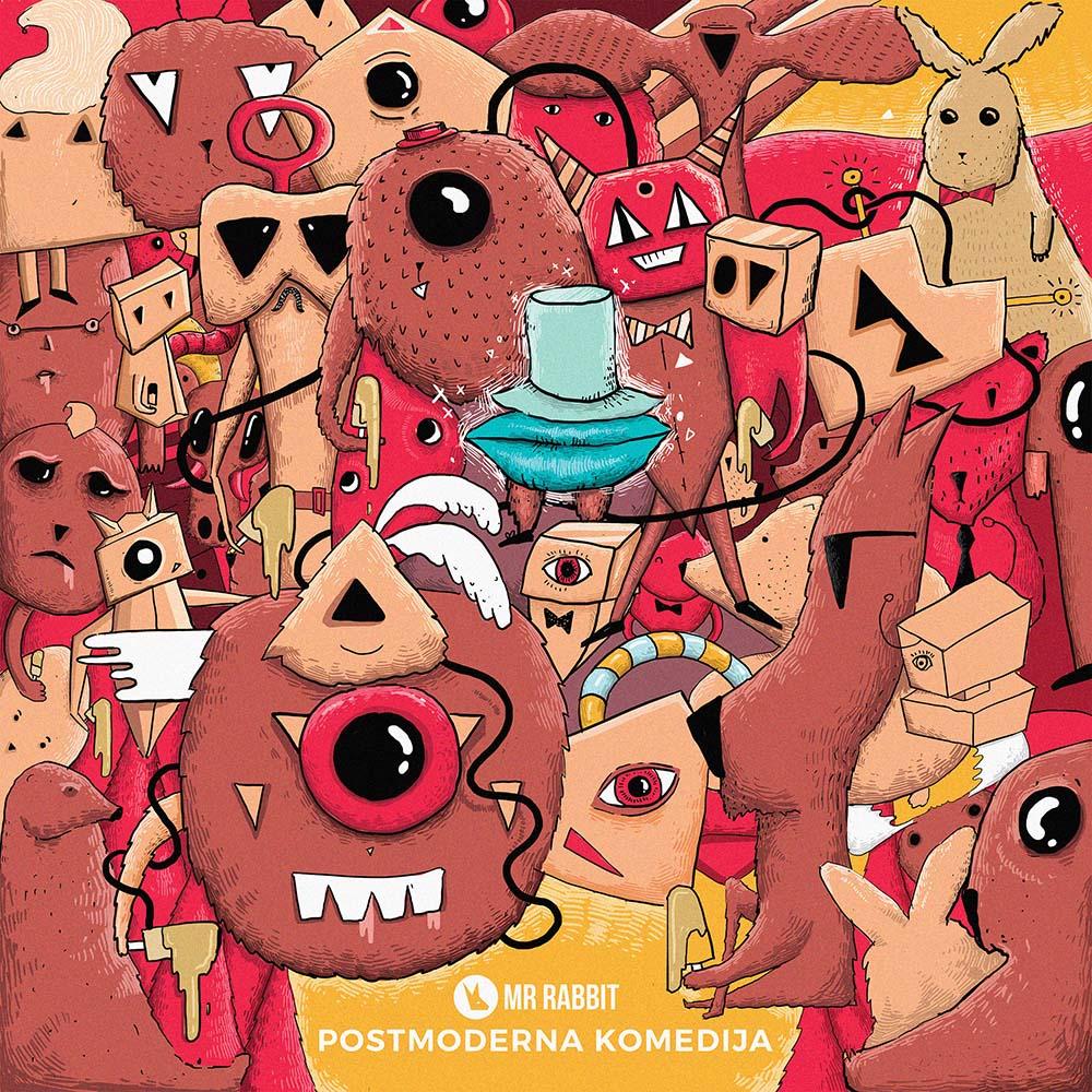 Mr.Rabbit Postmoderna Komedija Cover by Boris Jovanovic.jpg